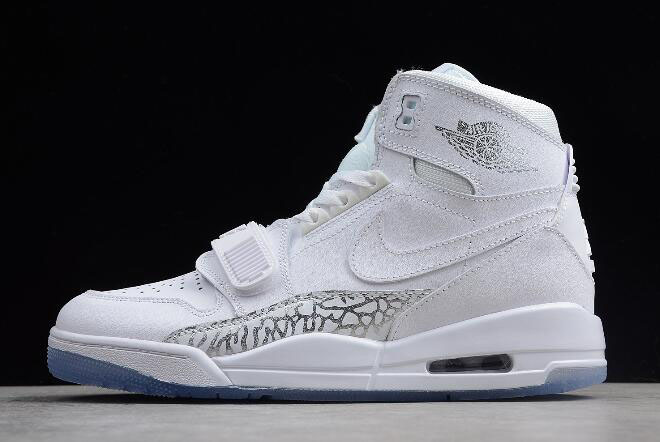 "Just Don x Jordan Legacy 312 ""White Cement"" White/White-Light Grey AV3922-100"