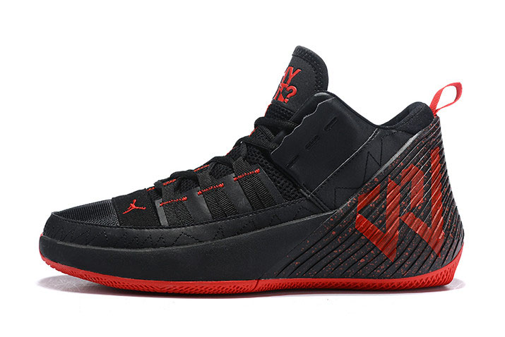Jordan Why Not Zer0.1 Chaos Black/University Red