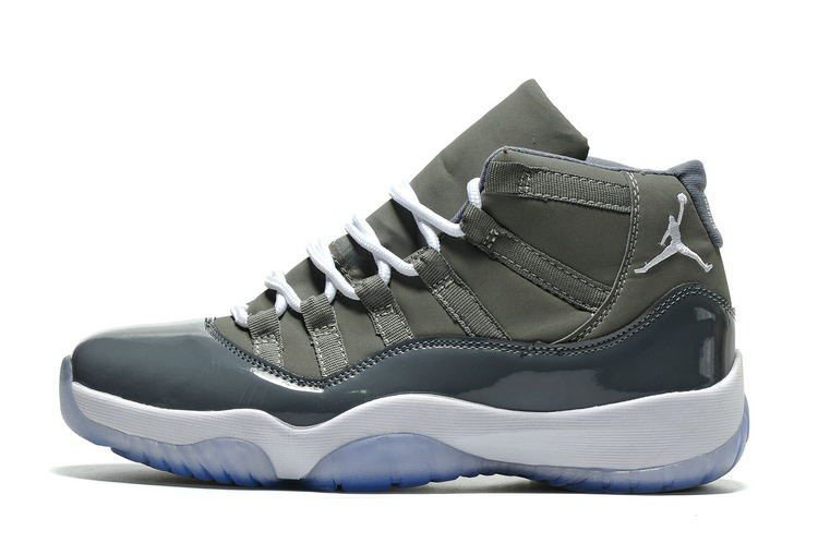 Air Jordan 11 Retro Cool Grey Medium Grey/White-Cool Grey 378037-001
