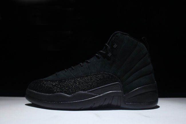 Air Jordan 12 OVO Black Black/Metallic Gold 873864-032