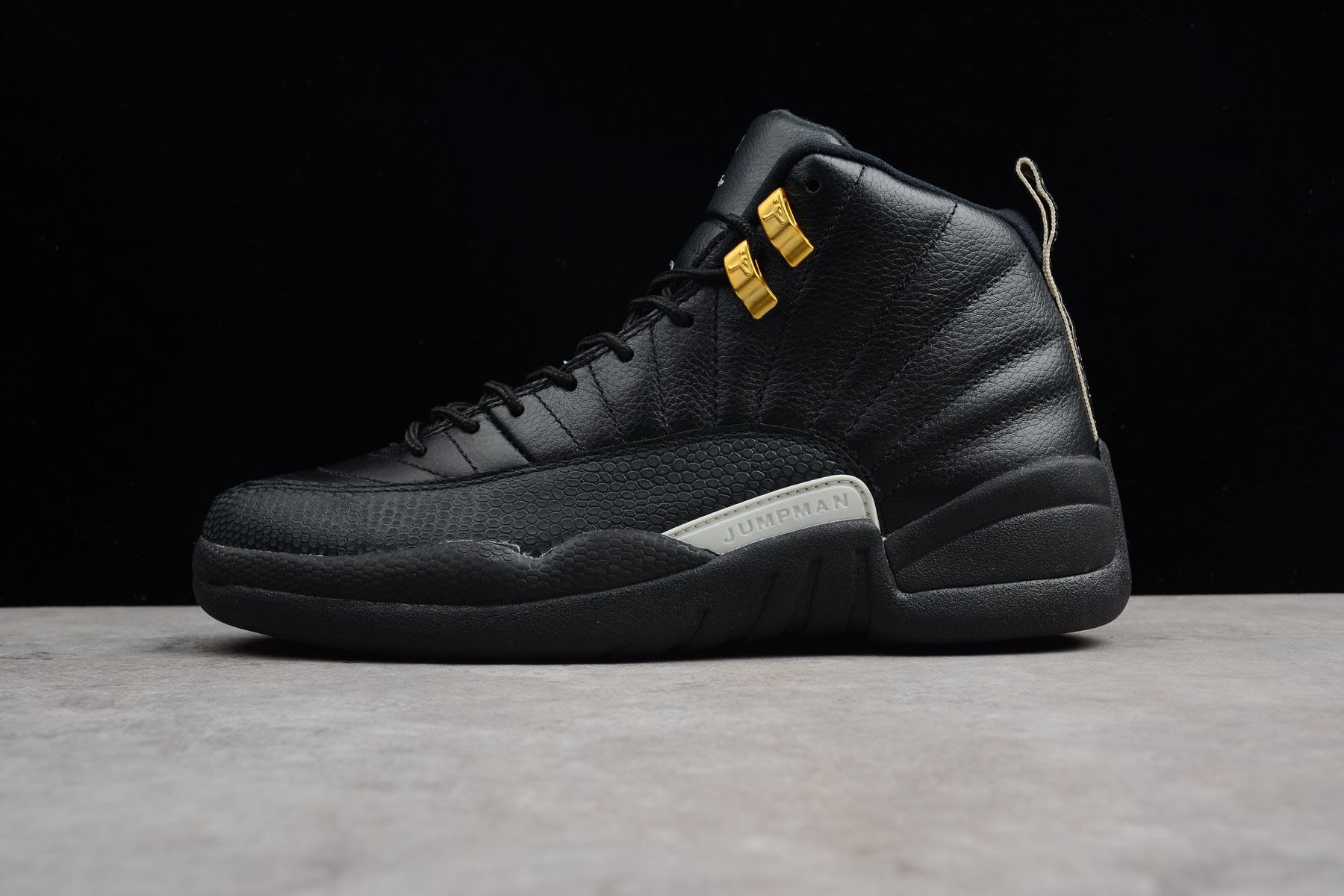 Air Jordan 12 The Master Black/Rattan-White-Metallic Gold 130690-013
