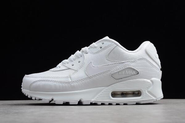 "WMNS Nike Air Max 90 Essential ""Triple White"" 537384-111"