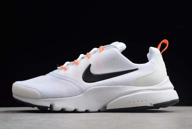 "Nike Presto Fly ""Just Do It"" Black/White-Total Orange AQ9688-100"