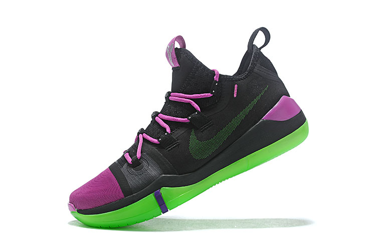 Newest Nike Kobe AD Black/Purple-Green