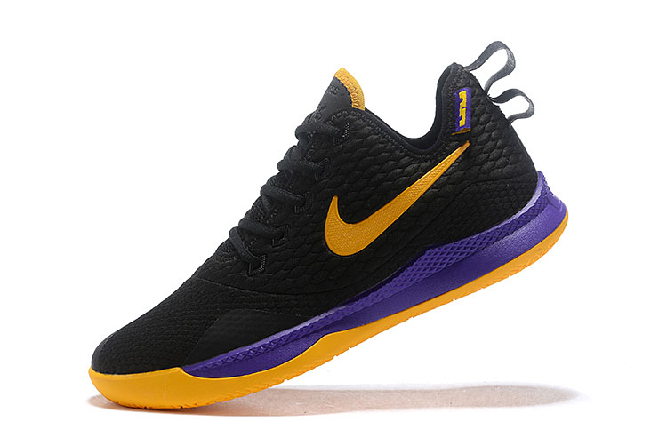 Nike LeBron Witness 3 Black/Yellow-Purple