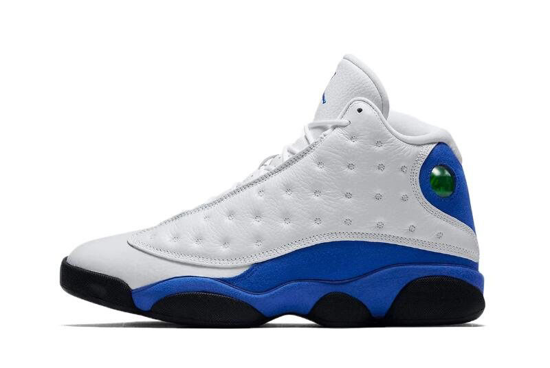 2018 Air Jordan 13 Hyper Royal White/Hyper Royal-Black Men's Size 414571-117