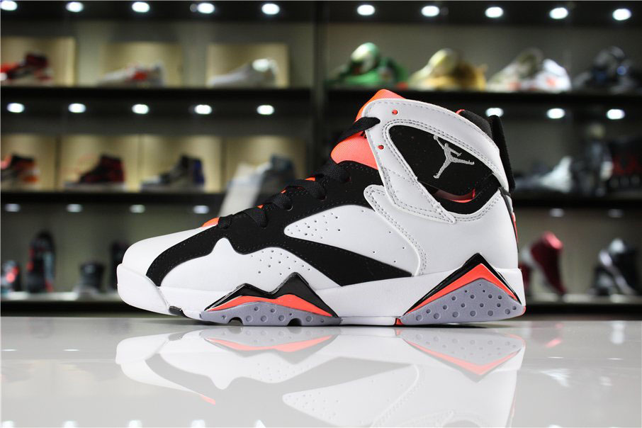 Air Jordan 7 GS Hot Lava White/Black-Hot Lava 442960-106