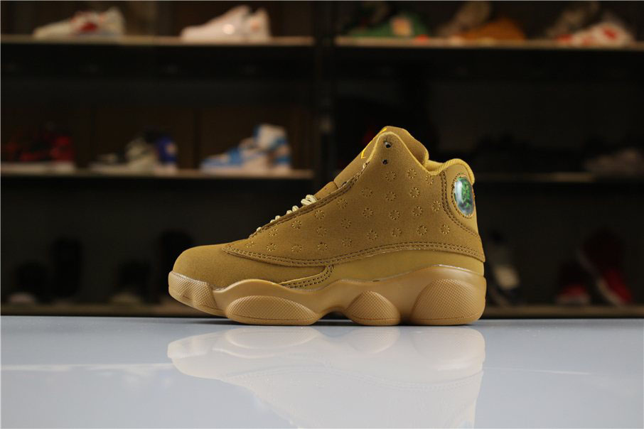 Kid's Air Jordan 13 Wheat Golden Harvest/Elemental Gold For Sale