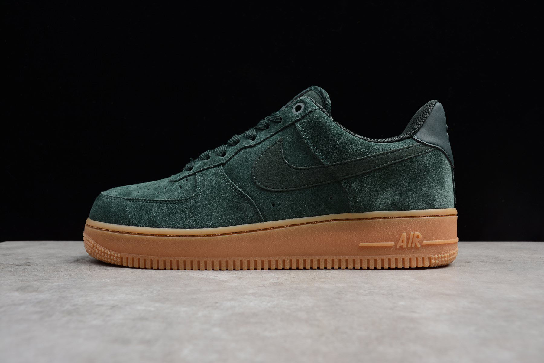 Mens and WMNS Nike Air Force 1 '07 LV8 Suede Outdoor Green AA1117-300