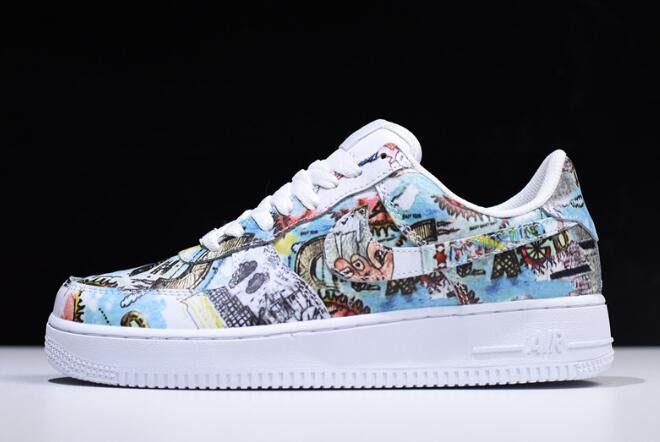 Men's Nike Air Force 1 Low Wings Multi-Color Free Shipping