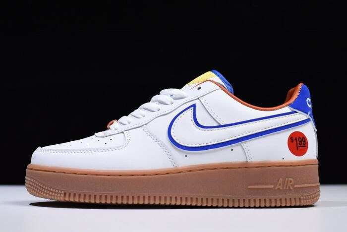 Nike Air Force 1 '07 LV8 Wonder Bread White/Red-Brown 653774-660