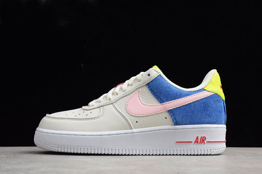 Nike Air Force 1 Corduroy Men's and Women's Size AQ4139-101 For Sale