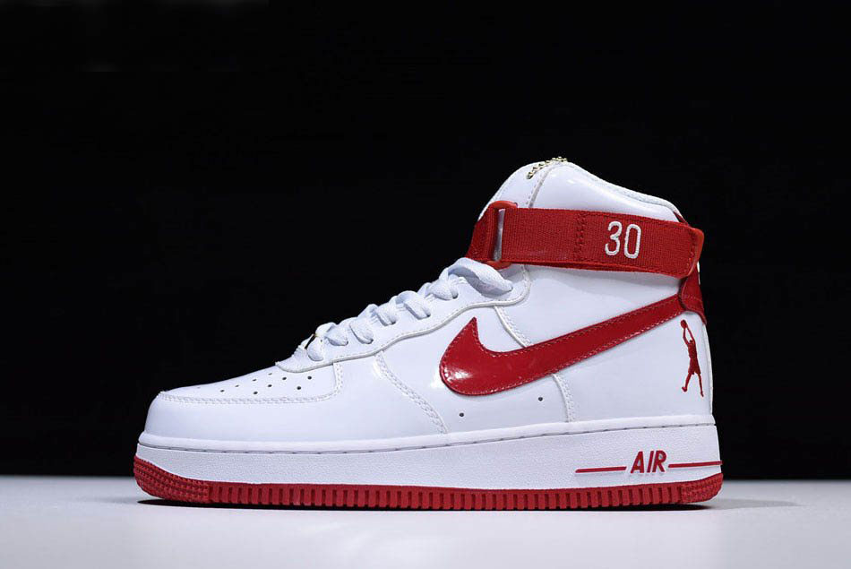 Nike Air Force 1 High Retro CT16 QS Ball Don't Lie White/Red Men's and Women's Size